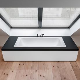 Bette Select Duo rectangular bath white, with BetteGlaze Plus