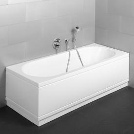 Bette Starlet Comfort corner bath corner installation, right corner white
