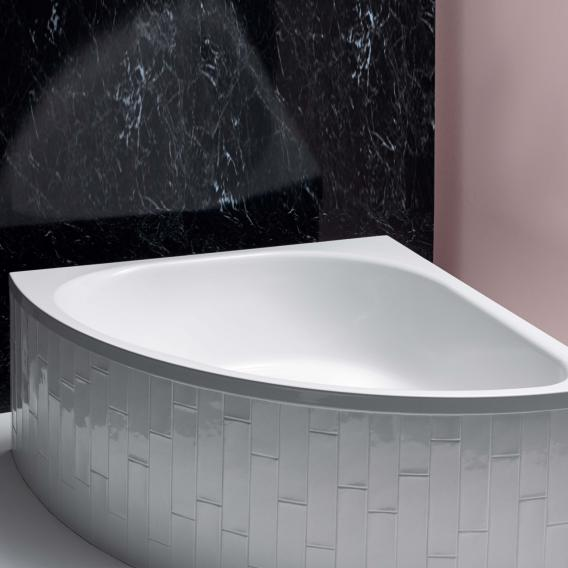 Bette Arco corner bath white, with BetteAnti-slip full base surface, with BetteGlaze Plus