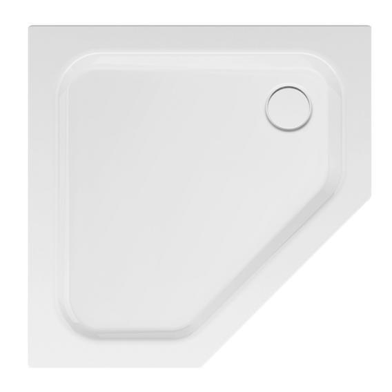 Bette Caro pentagonal shower tray white