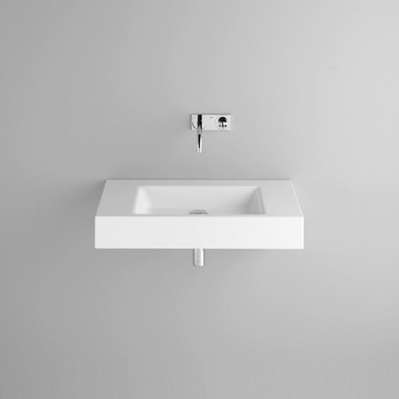 Bette Aqua wall-mounted washbasin white, with BetteGlaze