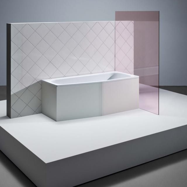 Bette Bambino compact bath, built-in white, with BetteGlaze Plus, for grip installation