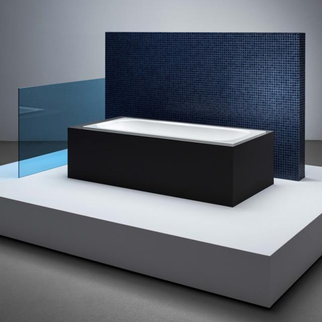 Bette Classic rectangular bath, built-in white, with BetteAnti-slip