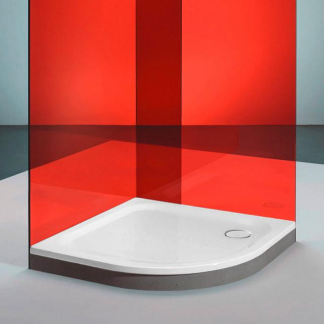 Bette Corner quadrant shower tray white, with BetteAnti-slip Pro