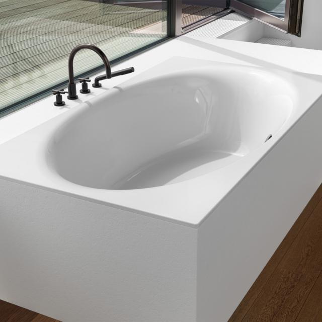 Bette Eve rectangular bath, built-in white