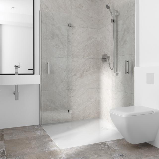 Bette Flat rectangular shower tray white