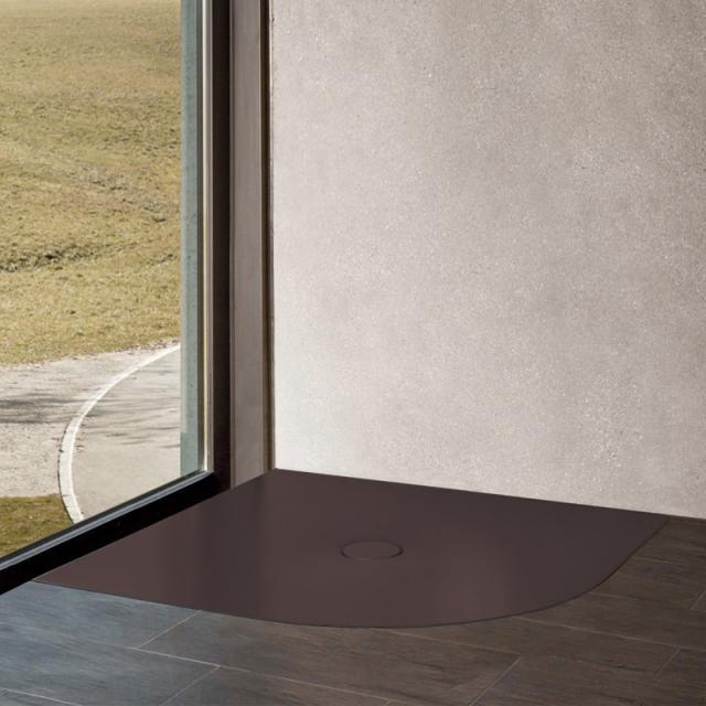 Bette Floor Corner quadrant shower tray anthracite