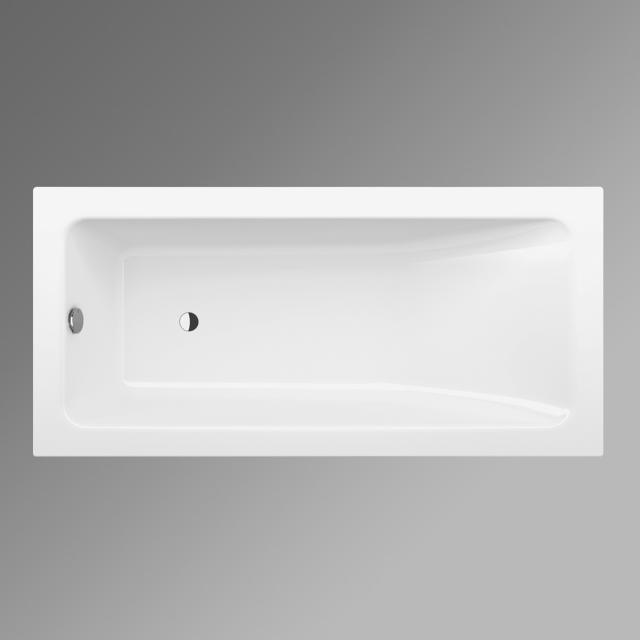 Bette One Relax rectangular bath white, with BetteGlaze Plus