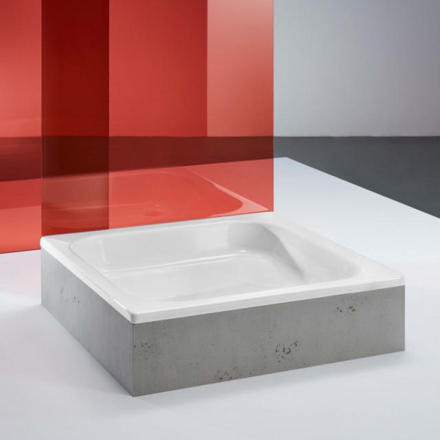 Bette Quinta rectangular/square shower tray white BetteGlaze Plus