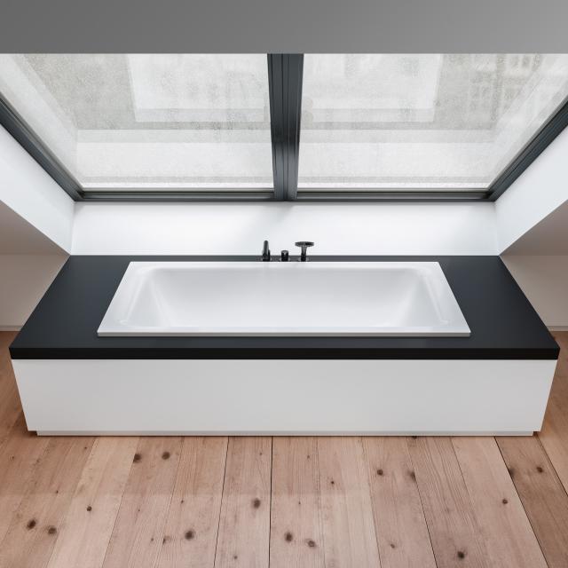 Bette Select Duo rectangular bath, built-in white