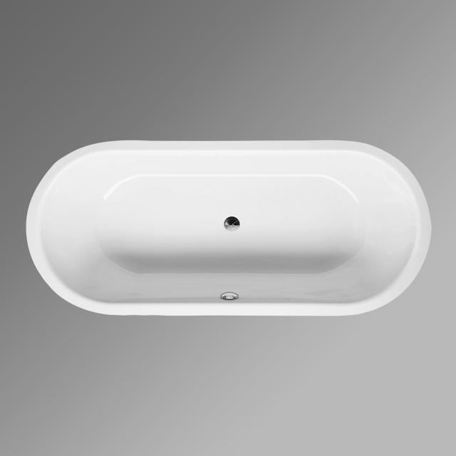 Bette Starlet Flair oval bath, built-in white, with BetteGlaze Plus