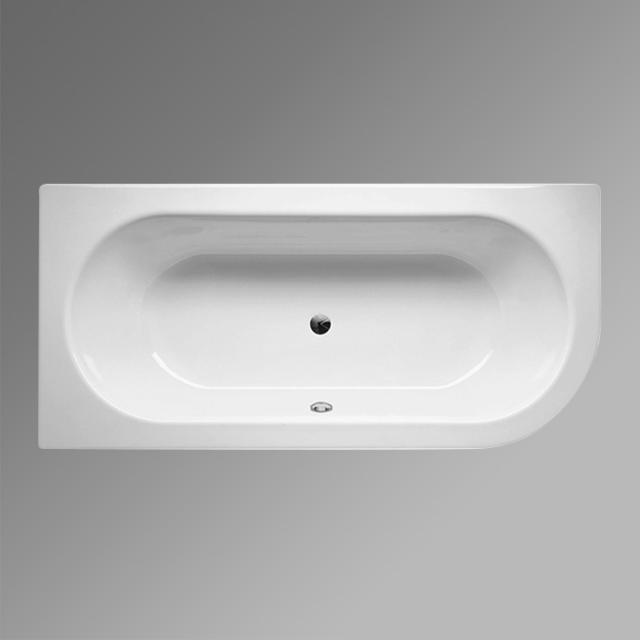 Bette Starlet corner bath, built-in white, with BetteGlaze Plus