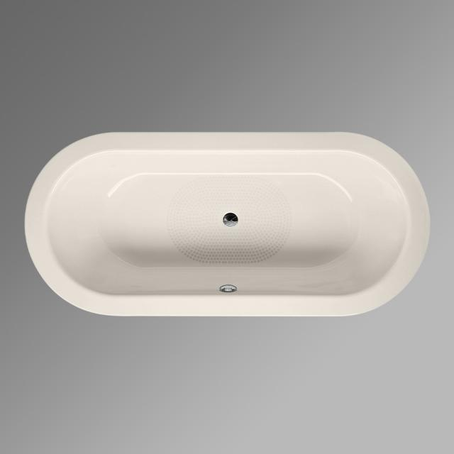 Bette Starlet oval bath, built-in pergamon, with BetteAnti-slip, with BetteGlaze Plus, for grip installation