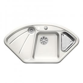 Blanco Blancodelta sink crystal white gloss