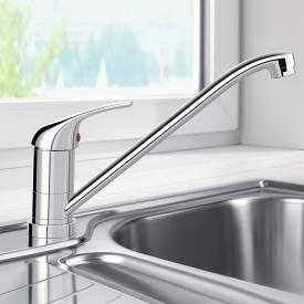 Blanco Daras-F single lever kitchen mixer, for front-of-window installation