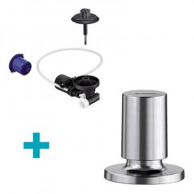 Blanco InFino® retrofit set for InFino® waste system, with Comfort remote pull knob stainless steel