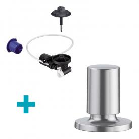 Blanco InFino® retrofit set for InFino® waste system, with Comfort remote pull knob stainless steel silk gloss