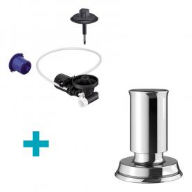 Blanco InFino® retrofit set for InFino® waste system, with Livia pull remote waste chrome