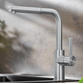 Blanco Lanora-S single lever kitchen fitting with pull-out spout