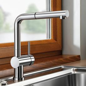 Blanco Linus-S-F single lever mixer chrome