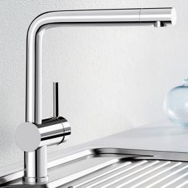 Blanco Linus single lever kitchen mixer chrome