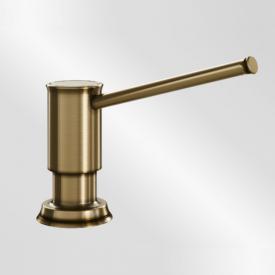 Blanco Livia washing-up liquid dispenser brushed brass