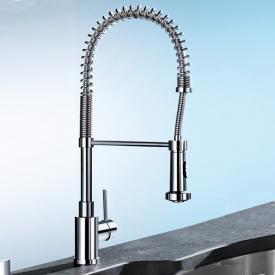 Blanco Master-S Semi-Profi single lever mixer chrome