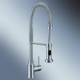 Blanco Master-S Semi-Profi single lever mixer stainless steel
