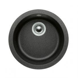 Blanco Rondo sink Ø 45 cm bowl SILGRANIT®PuraDur® II anthracite