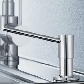 Blanco Torre washing-up liquid dispenser brushed stainless steel