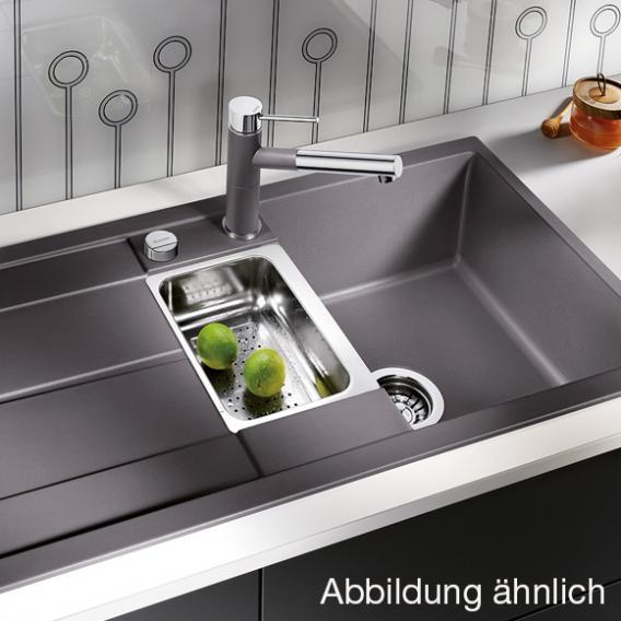 Blanco Metra 6 S sink bowl SILGRANIT®PuraDur® II anthracite