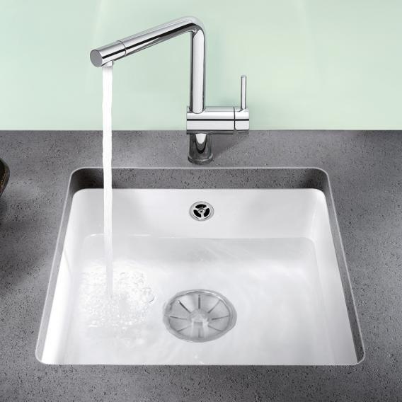 Blanco Subline 375-U sink crystal white