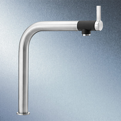 Blanco Vonda single lever kitchen mixer brushed stainless steel