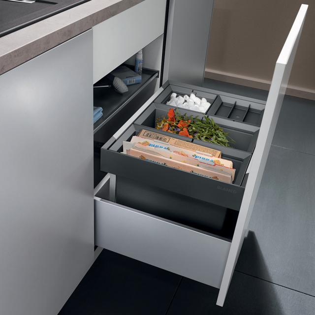 Blanco Flexon II waste separation system, with 1 x bin lid, for 60 cm undercounter unit