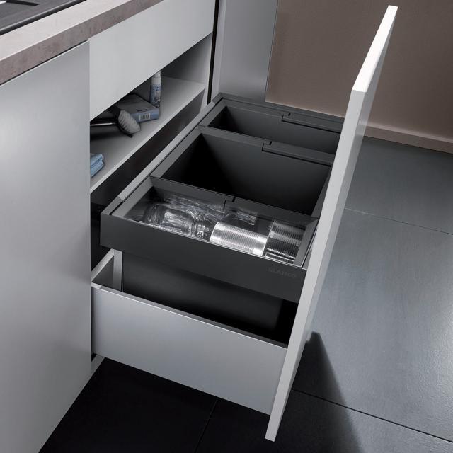 Blanco Flexon II 80/3 waste system for 80 cm undercounter