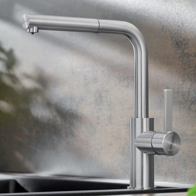 Blanco Lanora-S single lever kitchen mixer, with pull-out spray, for low pressure