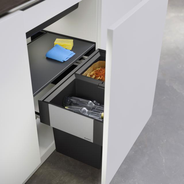 Blanco Select II Compact waste separation system with system cover, for 60 cm undercounter unit