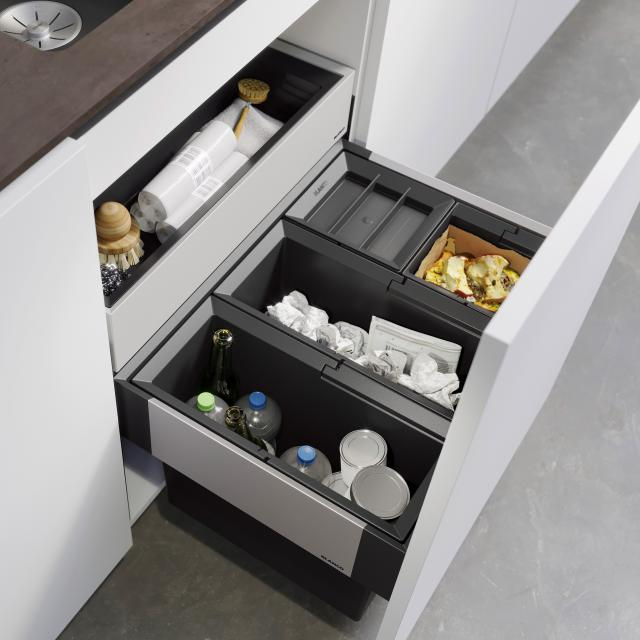 Blanco Select II waste separation system with 1 bin lid, for 60 cm undercounter unit