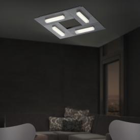 B-LEUCHTEN DOMINO L LED ceiling light, 4 heads