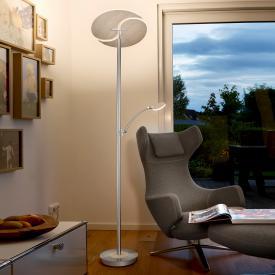 B-LEUCHTEN MALIBU NEW WOOD LED floor lamp with dimmer