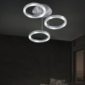 B-LEUCHTEN MICA LED ceiling light, 3 heads