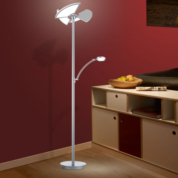 B-LEUCHTEN DIEGO LED floor lamp with dimmer and CCT