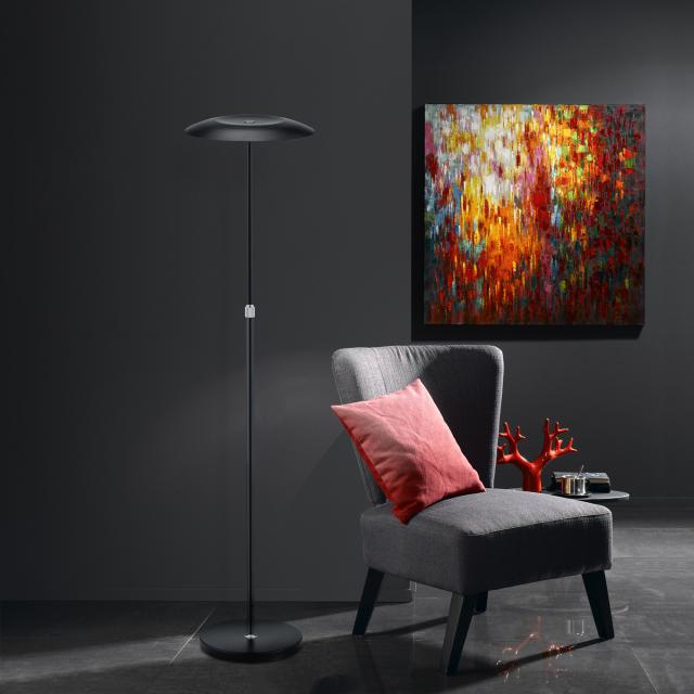 B-LEUCHTEN CURLING LED floor lamp with dimmer