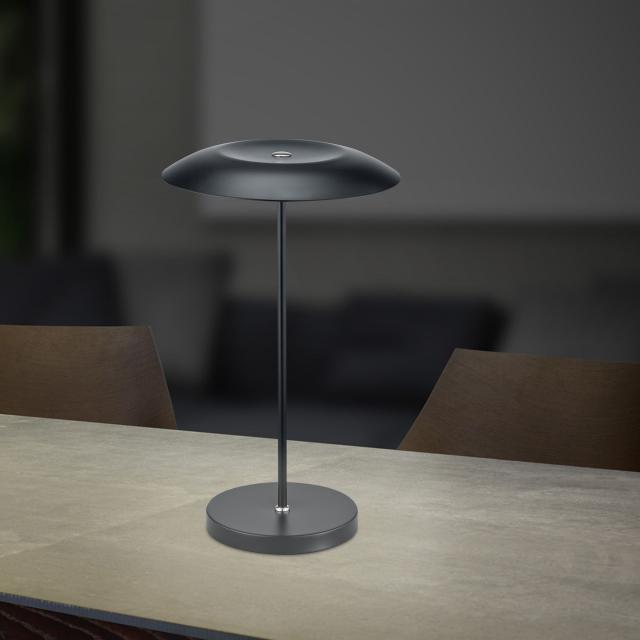 B-LEUCHTEN CURLING LED table lamp with dimmer