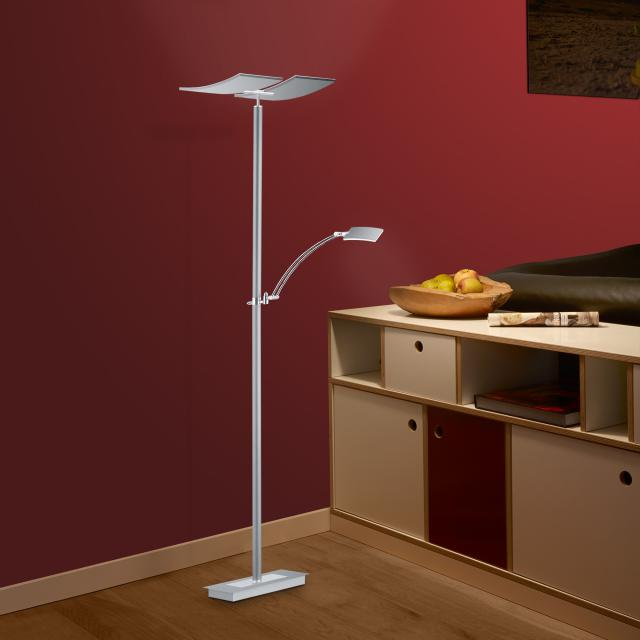 B-LEUCHTEN DUO LED floor lamp with CCT and dimmer