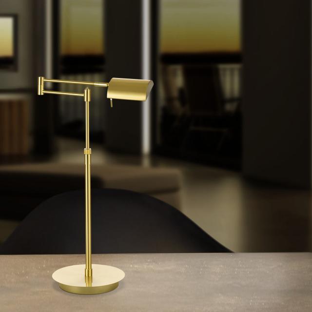 B-LEUCHTEN GRAZ LED table lamp with dimmer