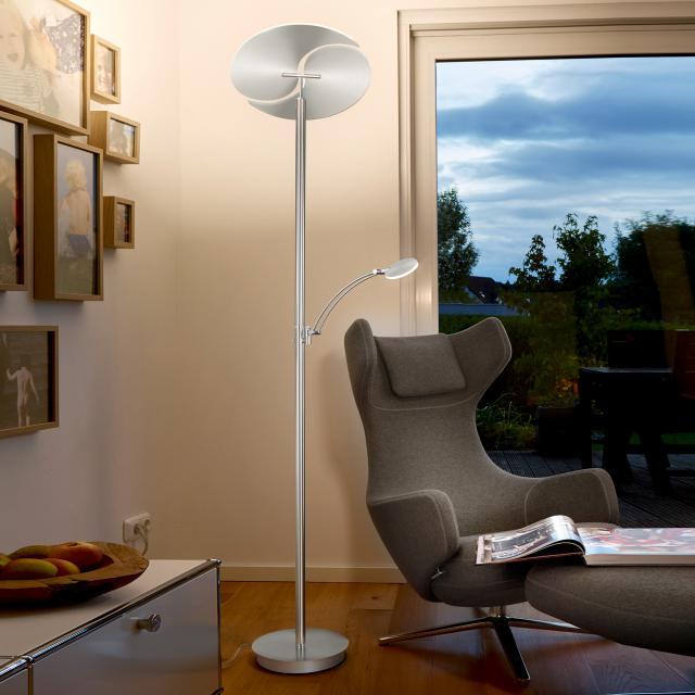 B-LEUCHTEN MALIBU LED floor lamp with dimmer