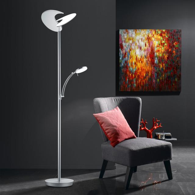 B-LEUCHTEN MALIBU LED floor lamp with dimmer and CCT
