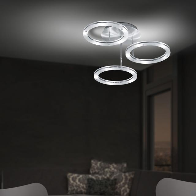 B-LEUCHTEN MICA LED ceiling light with dimmer