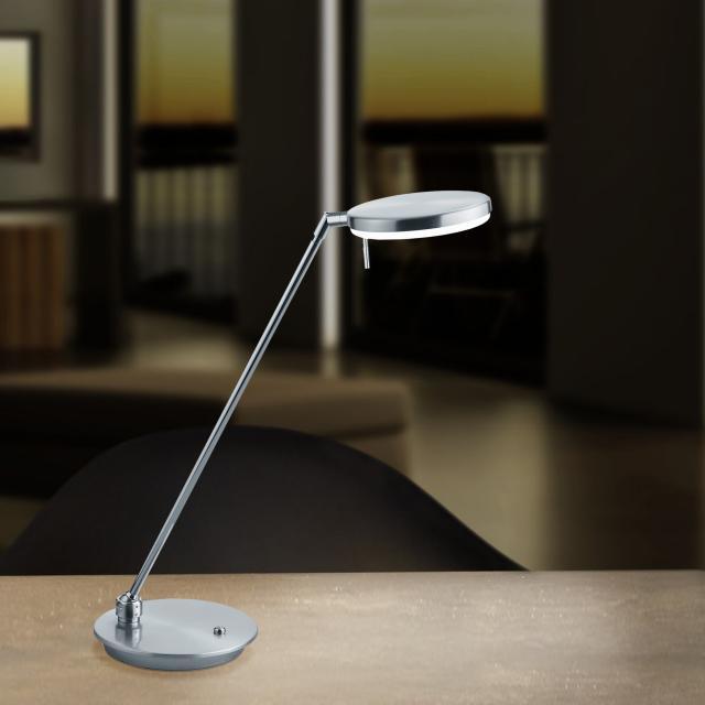 B-LEUCHTEN OMEGA LED table lamp with dimmer